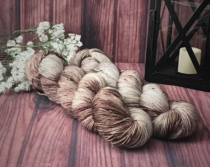 Hand Dyed Yarn, Sock Yarn, Indie Dyed Yarn, Merino Wool Yarn - Backroads on Simple Sock