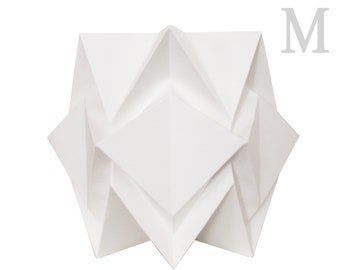 Original table lamp size M | handmade contemporary origami lighting  | Scandinavian design perfect for your home | pure shapes