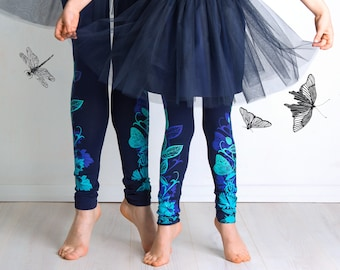 Dragonfly Reflection - children leggings