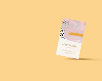 Heavy Petal Business Cards // DIY Business Cards // Printable Business Cards // Instant Download // Word, Photoshop + Illustrator Files