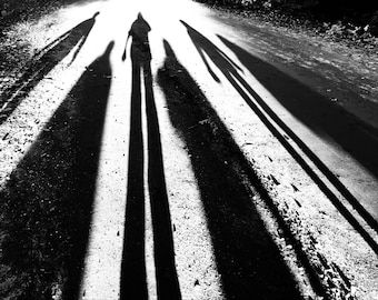 Shadows zombies silhouette people friends aliens photo prints photography