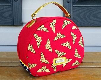 Wonder Woman Vanity Toiletries Travel Bag
