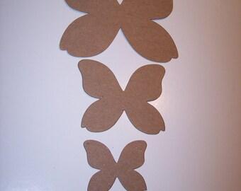 Butterflys Die Cuts Set of 12