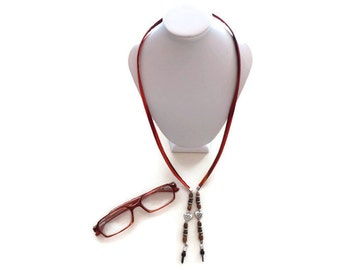Eyeglass Strap, Glasses Chain, Tropical Fabric Eyeglass Lanyard, Sunglass or Eyeglass Cord, Eyewear Lanyard, Gift For Women