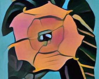 My father's flower Digital art download