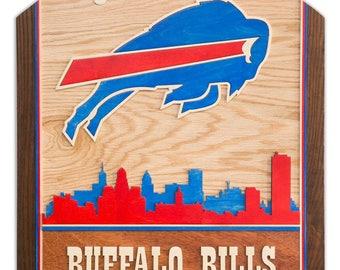 Custom 3D Wood Sign - Buffalo Bills