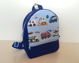 Backpack (M) 'Wheelers'