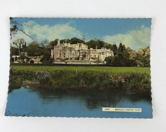 Postcard Berkeley Castle Gloucestershire UK Color Harvey Barton Bristol England