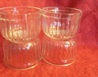 Kerr Jelly Jars  Set of 5 Vintage