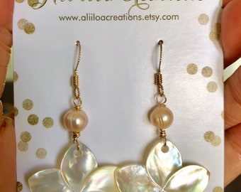 Mother of Pearl Plumerias (Yellow)
