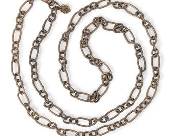 "Large Link Chain 24"" Necklace"