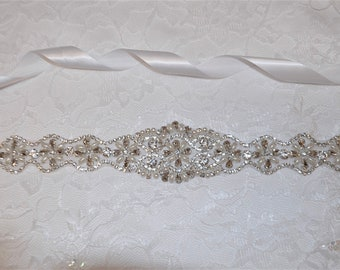 bridal belt, wedding belt, bridal sash,
