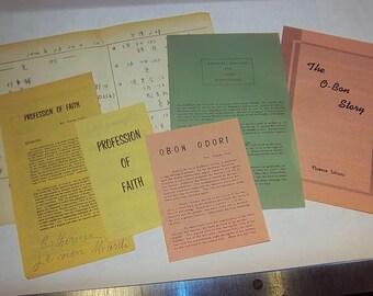 Buddhist pamphlets