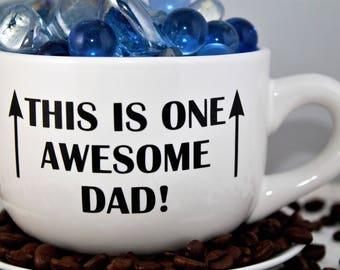Father's Day-Awesome Dad-Coffee Mug