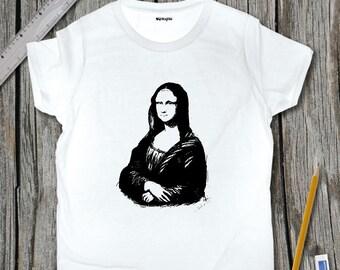 Mona Lisa Sketch T-Shirt | SketchTee