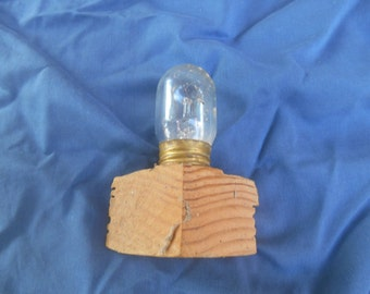 Bulb from old telephone switchboard Bell Telephone