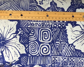 """BTY Vintage Hawaiian Fabric Peter Pan  46"""" Wide Cotton- L15"""