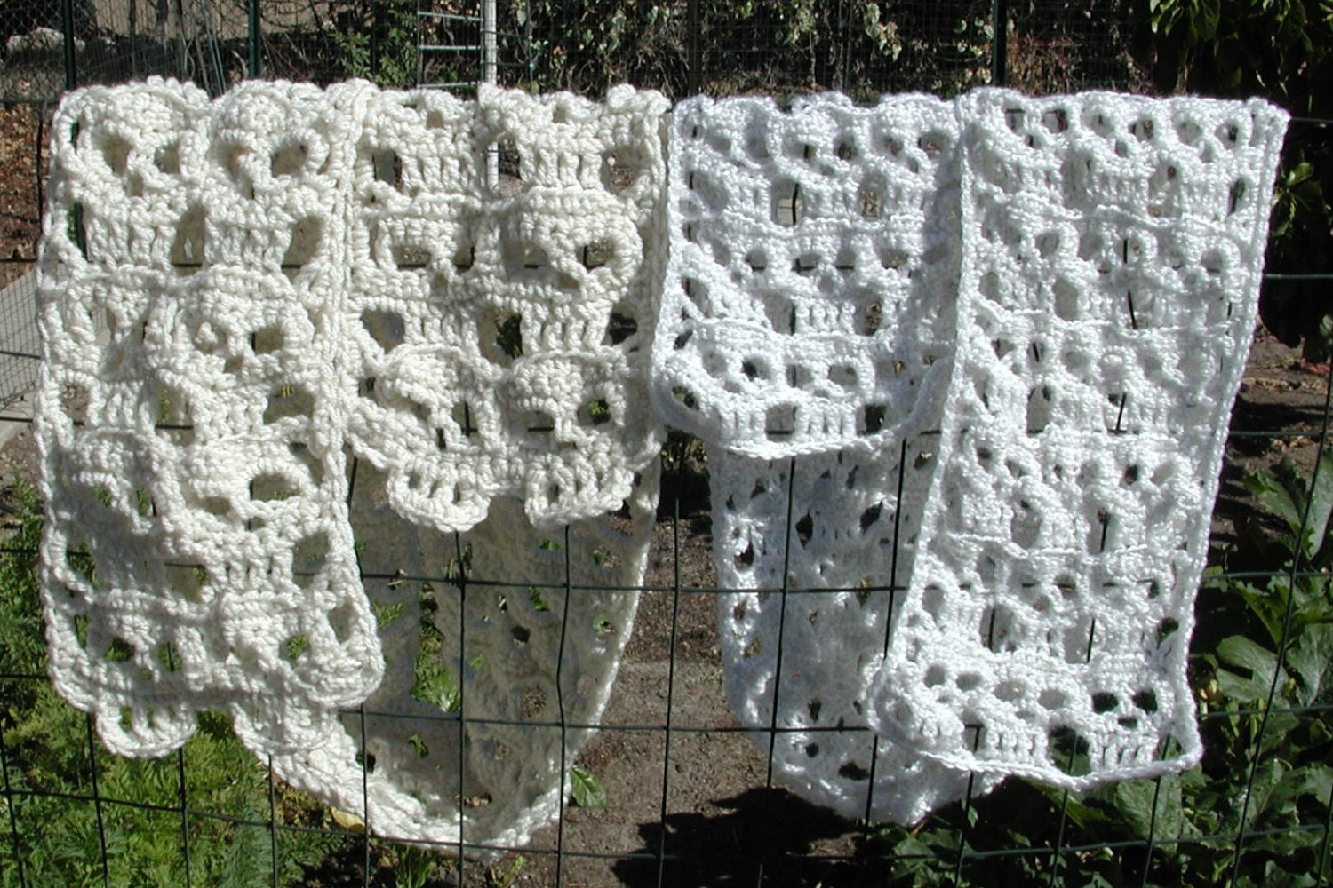 Modern Crochet Skull Pattern Composition - Sewing Pattern for ...