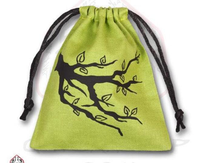 Dice Accessories: Ents Dice Bag (Green) - Q-Workshop