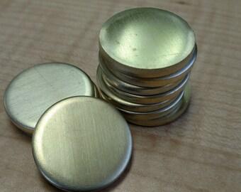 20 Gauge Brass Discs
