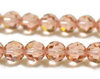 Swarovski Crystal Round Beads 6mm -Vintage Rose- Article 5000