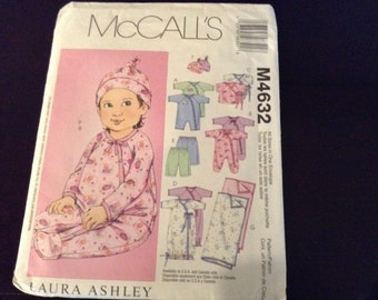 McCall's pattern M4632 infant boy or girl  Size Small- medium- large XLarge New Uncut