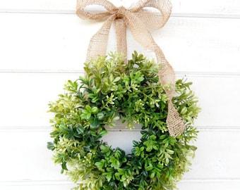 BOXWOOD-Greenery Wreaths