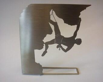 "climber - ""rock climbing"" - decorative object for the desktop - climber"