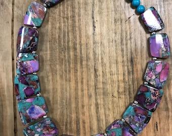 Jasper and Pyrite Collar