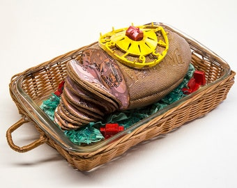 Ham It Up & Pass the Pig Purse | Food For Thought Sculpture