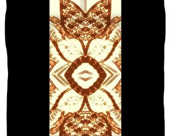 Mandala Henna Duvet Cover,Earthy Brown Black Duvet,King,Queen,FullTwin,Bohemian Duvet,Boho Duvet Cover,Comforter Cover,Bedding,Bedroom Decor