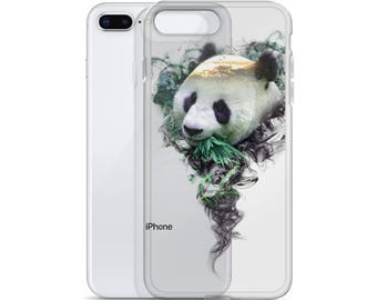 iPhone Transparent Case - Panda - Spirit Animal