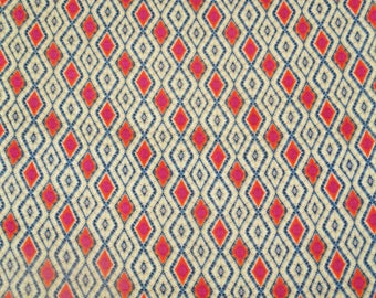 """Apparel Fabric, Beige Fabric, Ikat Print, Cotton Fabric, Home Accessories, 42"""" Inch Dress Fabric By The Yard ZBC8885C"""