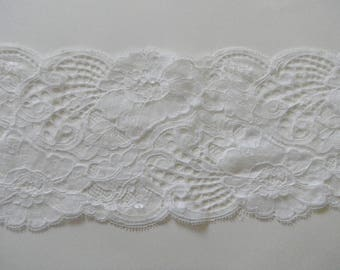 lightweight white lace and delicate lace