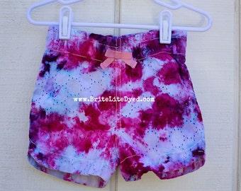 2T Tie Dye Shorts - Tye Dye - toddler girls - Toddler Shorts - Toddler Clothes - Birthday Gift - hippie kid - Tie Dye - Tyedye Shorts