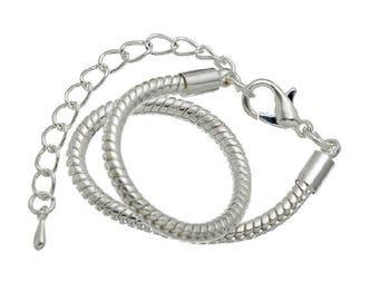 Bracelet 3 mm thick snake chain