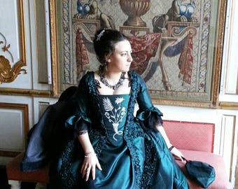 French 18th century dress - dress Mack - dress