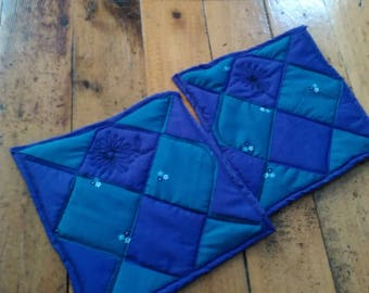 Quilted pot holders