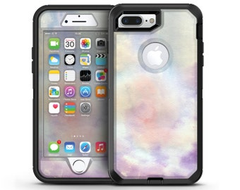 Purple 97 Absorbed Watercolor Texture - OtterBox Case Skin-Kit for the iPhone, Galaxy & More