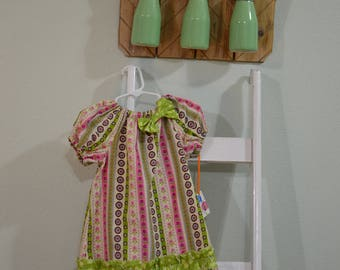 Corduroy Peasant Dress- 2T- Toddler Girl Dress
