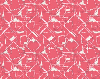 Art Gallery Fabrics - NouvElle New Look Coral by Pat Bravo