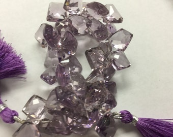 Pink Amethyst Funky Cut Faceted