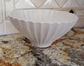 Jonathan Adler white lantern bowl, modern