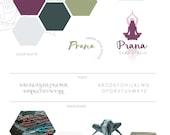 Yoga Studio Brand Board, ...