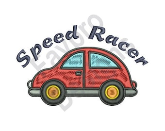 Speed Racer - Machine Embroidery Design