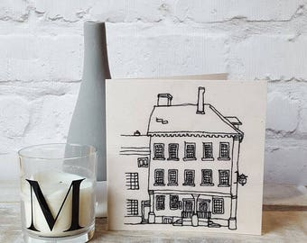 Samuel Johnson Birthplace Museum Lichfield printed Card
