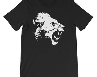 Lion shirt, lion tshirt, jungle shirt, animal shirt, kids lion shirt, lion birthday shirt, ladies lion tee, african lion shirt, lion gift