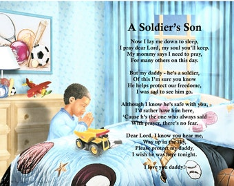 Military Prayer A Soldier's Son