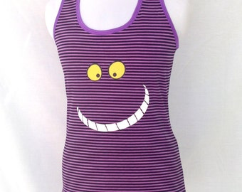 Purple Cat running top READY FOR SHIPPING