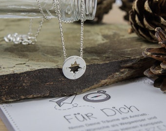 Compass Necklace Gift